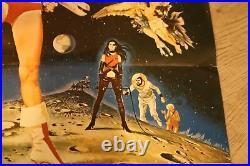 1968 ORIGINAL Print Barbarella VINTAGE RARE Movie Poster 15 x 23.5 France
