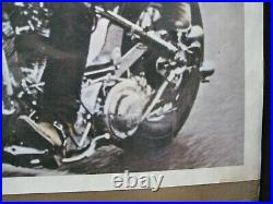 1969 Vintage Poster Biker Easy Rider Peter Fonda Dennis Hopper Movie Cng2169