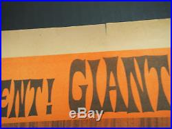 1970Monster ZeroWar Of The GargantuasGodzilla RodanOrig. Vtg Old Poster #1