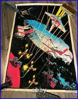 1980 Empire Attack Blacklight Poster #931 Funky Enterprises