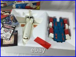 1986 Vintage G1 Transformers Sky Lynx Boxed Complete Booklet Movie Poster RARE