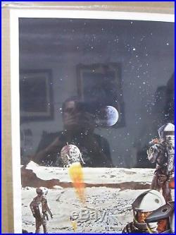 2001 Space odyssey movie 1968 Vintage Poster Inv#G1638