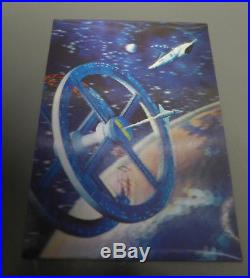 2001a space odyssey Lenticular 3D Fip Effect Vintage Movie Postcard 1968