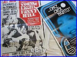20 Vintage Posters Erotica Pop Culture Smut Retro Nude Movie Original Rare Lot