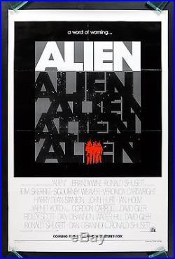 ALIEN CineMasterpieces VINTAGE ORIGINAL MOVIE POSTER ADVANCE TEASER HORROR'79