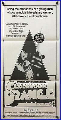 A Clockwork Orange Stanley Kubrick Original Vintage Movie Poster 1979