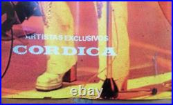 Advertising poster of ABBA vintage collectable made in Venezuela by Cordica 70s