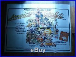 American Graffiti Vintage Original Film Poster 1973