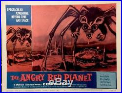 Angry Red Planet 1960 Vintage AIP Sci-Fi Lobby Card Movie Poster 11x14 GENUINE