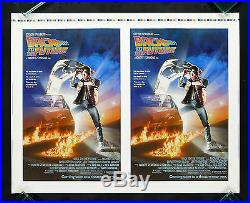 BACK TO THE FUTURE CineMasterpieces ADVANCE PRINTERS PROOF MOVIE POSTER
