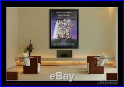BEETLEJUICE Tim Burton 4x6 ft Vintage French Grande Movie Poster Original 1988