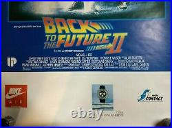 Back To The Future Part II Authentic Vintage Belgian Poster Nike