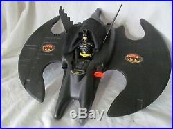Batman 1989 Batmobile Batwing Michael Keaton Andy Smith Vintage Figures