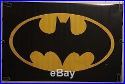 Batman Logo Vintage Poster 1964 DC Comics Superhero Cartoon Movie T. V. Pin-up