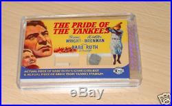 Breygent Vintage Movie Posters Babe Ruth bat/brick case