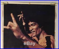 Bruce Lee Game Of Death Original Poster Vintage Pin-up Karate Martial Arts 1970s