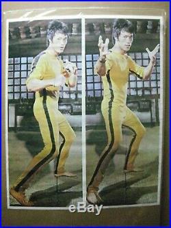 Bruce Lee Vintage Poster Enter the Dragon Karate martial Arts in#G4709