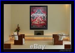 CREEPSHOW Horror 4x6 ft Vintage French Grande Movie Poster Original 1982