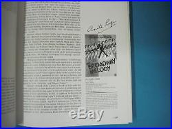 Classic Movie Posters Book SIGNED BY SIX VINTAGE STARS