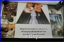 Clockwork Orange Vintage Movie Poster 38 x 54 Made in Great Britain RARE