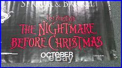 Collectible Vintage Tim Burton's The Nightmare Before Christmas Poster