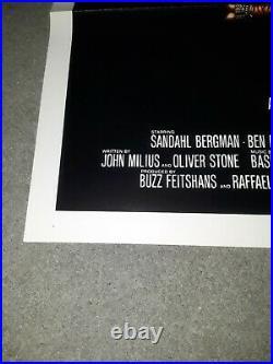 Conan The Barbarian 27x41 1982 Original Vintage One Sheet Film Poster 1SH