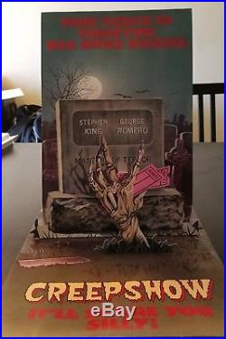 Creepshow 1982 Vintage Movie Theater Pop-up Promo
