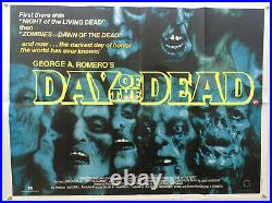Day of the Dead Zombie Original Vintage Movie Poster 1985