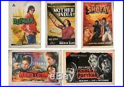 Deewaar Original Hand Painted Bollywood Movie Poster Vintage Indian Films