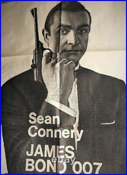 Dr No Vintage Movie Poster James Bond Argentina Version
