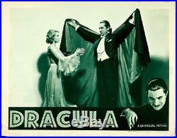 Dracula Original Vintage Lobby Card Movie Poster Bela Lugosi'38