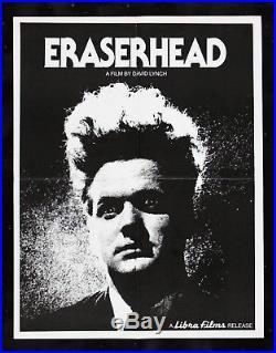 ERASERHEAD CineMasterpieces DAVID LYNCH VINTAGE ORIGINAL MOVIE POSTER 1977