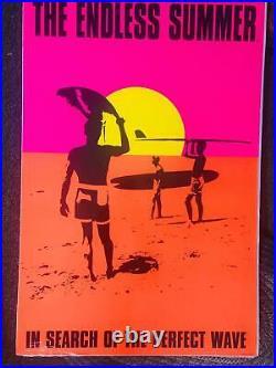 Endless Summer Rare Bright Vibrant Vintage 2002 Poster 24 x 36