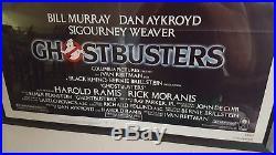 GHOSTBUSTERS 1984 Original Vintage Movie Poster