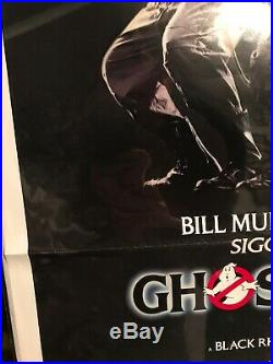 Ghostbusters 1984 Origional Us One Sheet Movie Poster 2741 Folded
