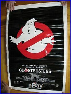 Ghostbusters Video Poster Vintage