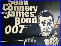 Goldfinger Vintage Movie Poster James Bond Argentina Version