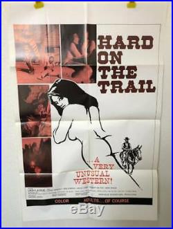 HARD ON THE TRAIL Vintage Sexploitation Adult Film Porno XXX Lash La Rue 1972