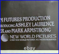 Hellraiser Vintage Movie Poster 27 X 41 Clive Barker Pinhead Horror