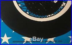 Hopperfinger Vintage Blacklight Poster Dennis Hopper MiddleFinger Easy Rider 70
