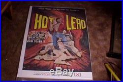 Hot Lead Orig Movie Poster Vintage Sexploitation
