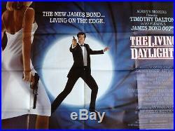 JAMES BOND, vintage cinema poster