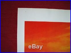 JAWS 2 1978 ORIGINAL MOVIE POSTER 27x41 VINTAGE SHARK RED SEA TEASER HALLOWEEN