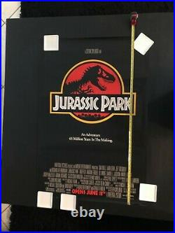 JURASSIC PARK 1993 Original Vintage Theatrical Rolled Advance One-Sheet POSTER
