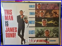 James Bond 007 You Only Live Twice THIS MAN IS VINTAGE RARE FRAMED 40X60