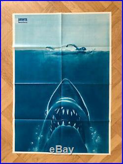 Jaws Shark Hajen Movie 1975 Sweden Swedish Poster Magazine 1970s Vintage Rare