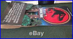 Jurassic Park 1992 original vintage Cinema standee Rare 5ft tall Movie poster
