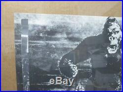 KING KONG MOVIE CHARACTER VINTAGE POSTER GARAGE 1970's CNG205