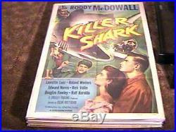Killer Shark Movie Poster'50 Vintage Jaws Related