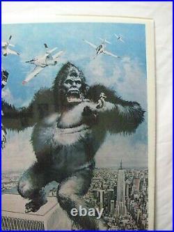 King Kong Movie Character Vintage Poster Garage 1976 Cng1058